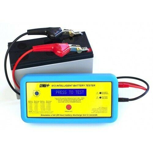 TEST BATTERY 6/12V 1.2-100Ah ACT Meters Model #: ACT612
