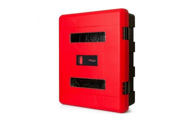 Firechief Double Fire Extinguisher Cabinet To Fit Up to x2 9KG/LTR Extinguisher