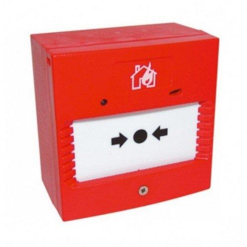 Fike Sita Addressable Manual Call Point Resettable Red Emergency 403-0006