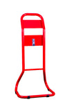 Single Tubular Extinguisher Stand Red