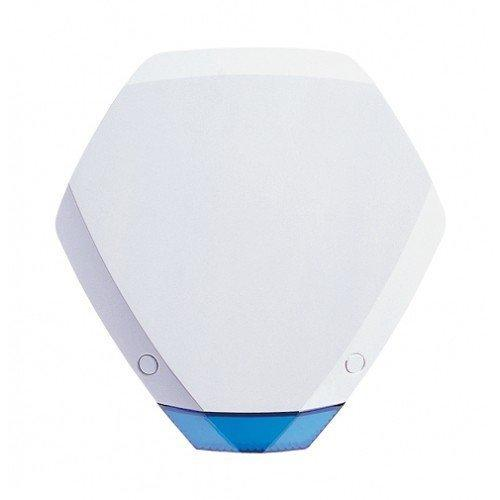 Texecom Premier Elite Odyssey 3, Grade 3, External Hexagonal Alarm Bell Box Sounder Strobe, Twin LED Strobe, FCC-1121 by Texecom