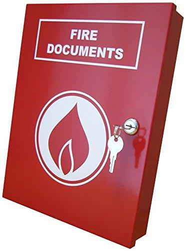 DOCUMENT BOX A4 FIRE RED A4-DOC-BOX-R-FIRE By ELMDENE