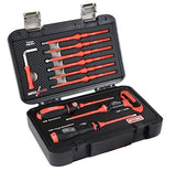 Armeg SDSBSET001FL 13 Piece Fully Loaded VDE Adjustable Torque Screwdriver Set, Black/red