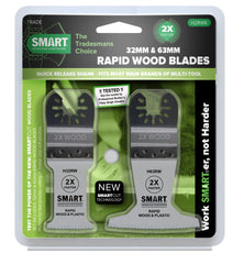 Smart H2RWK Rapid legno e plastica multiuso lame