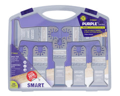 SMART P7MAX Purple Series 7 Piece Titanium Alloy Bi-Metal Blade Set