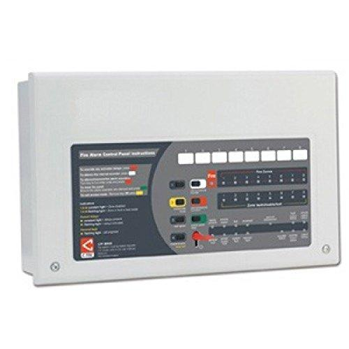 TC443B- C-Tec CFP704-2 4 Four Zone AlarmSense Bi-Wire Fire Alarm Panel