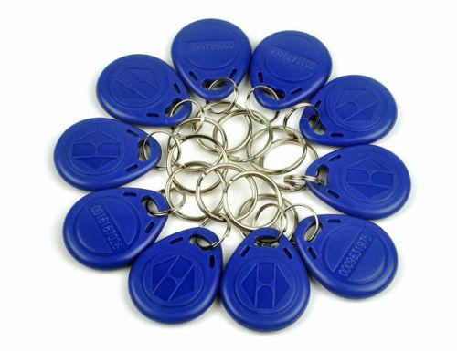 RFID Tag / Fob (Pack of 10 for  Proximity ID Entry Access control Key Ring)