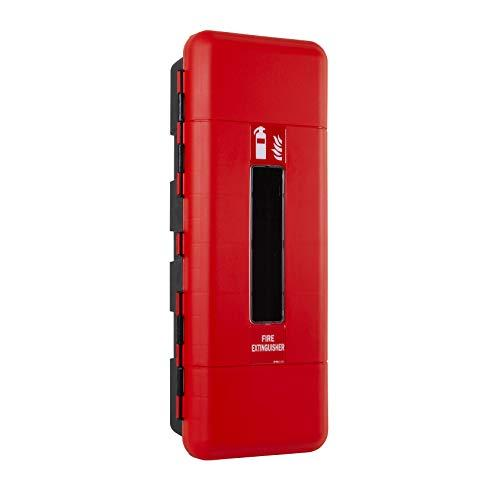 Firechief FCLSC Cabinet, Single Extinguisher, Large, Red