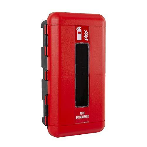 Firechief FCSSC Cabinet, Single Extinguisher, Small, Red