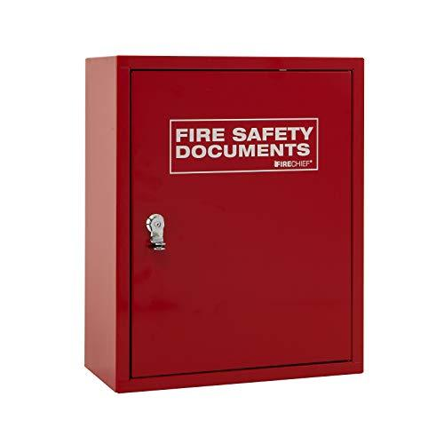 Firechief Fmdc/Red Cabinet, Metal Document, Seal Latch, Red