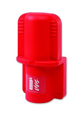 Jonesco HS03 Extinguisher Vehicle Container, 2 kg/L, Red