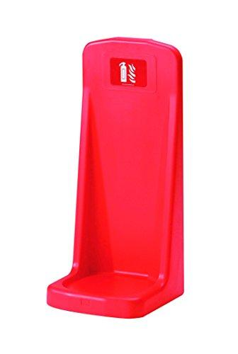 Firechief HS10/RED Single Flat Base Extinguisher Stand, Red