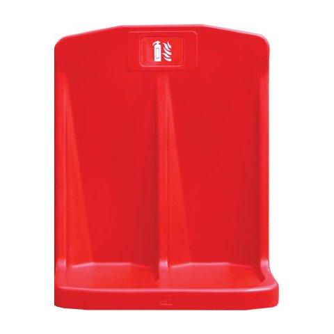 Jonesco Rotationally Moulded Double Stand Red