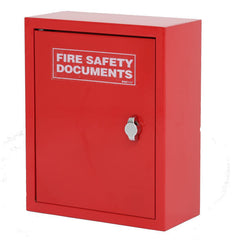 Thomas Glover High Quality Metal Fire Document Cabinet Red - SD Fire Alarms