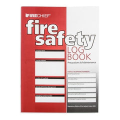 Firechief  Fire Safety Log Book - SD Fire Alarms