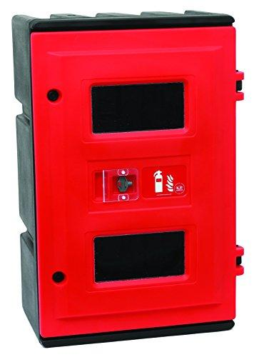 Jonesco HS85 Triple Equipment Cabinet, Fire Fighting, Red