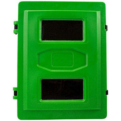 Green breathing apparatus box, size - large with alarm