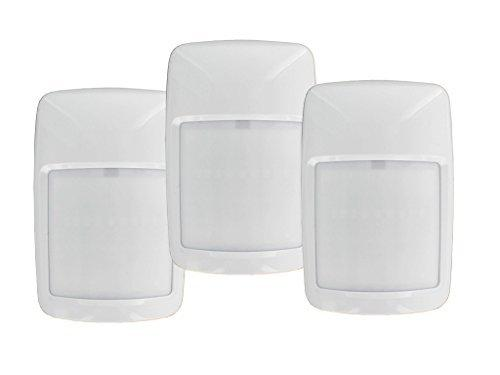 Hard Wired Pet Tolerant PIR Detectors 3 Pack HW3A8P