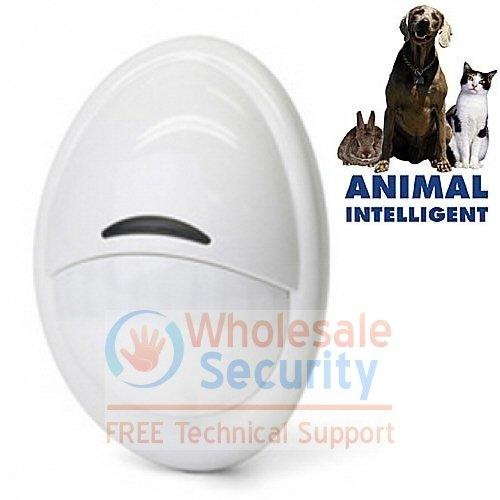 Pet Friendly Passive Infra-red (PIR) Detector for WIRED alarm system - Pet tollerence to 85Lb (38Kg)