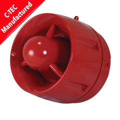 C-Tec ActiV Conventional Hi-Output 100dB(A) Wall Sounder (shallow base) (BF430C/CC/SR)
