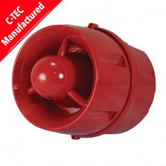 C-Tec ActiV Conventional Hi-Output 100dB(A) Wall Sounder (deep base) (BF430C/CC/DR)