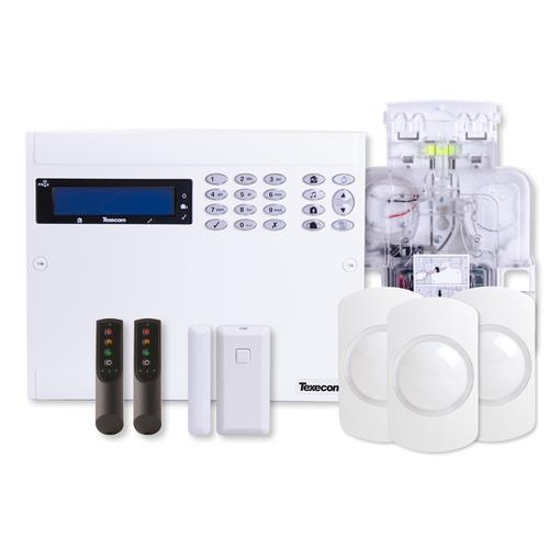 TEXECOM PREMIER ELITE 64 ZONE SELF-CONTAINED WIRELESS ALARM KIT WITH SOUNDER (KIT-1004)