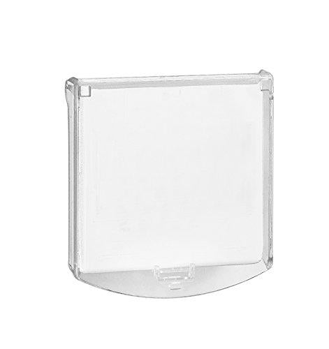 Eaton MBGHCC Protective Hinged Cover for MBG914/MBG917 Call Point, Transparent, Set of 10 Pieces