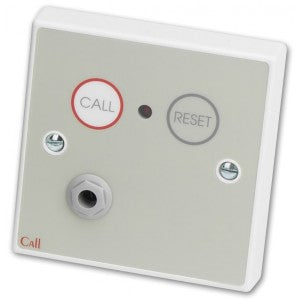 C-Tec Conventional Call Point, Braille Label with Button Reset and Remote Socket (NC802DBB)