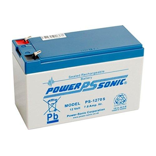 Power Sonic 12v 7ah suitable for Security Alarm & Intruder Alarm battery (Sealed Rechargeable Battery)