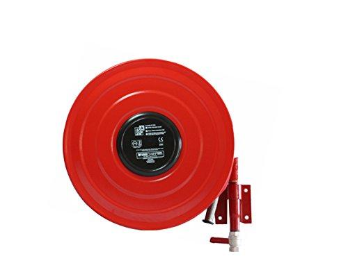 Firechief Rmsm19 Hose Reel, Swinging Manual, 19 mm, Red