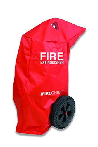Firechief RPV8 Fire Extinguisher Cover, 50 kg, Red