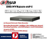 Dahua 16Channel 1U 16PoE WizMind Network Video Recorder (DHI-NVR5216-16P-I)