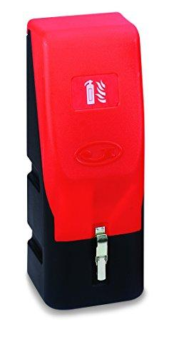 Jonesco HS68 Extinguisher Vehicle Container, Front loading, 6 kg/L, Red