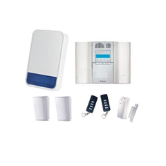 Visonic Powermaster 64 Zone Burglar Alarm Starter Kit Inc Siren