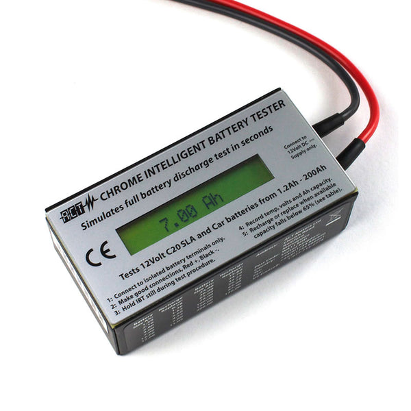ACT Chrome 12volt SLA Battery Tester
