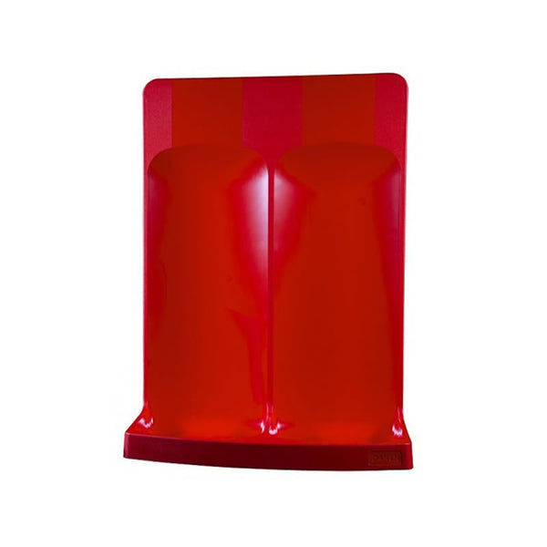 Commander Double Fire Extinguisher Stand Plastic Moulded