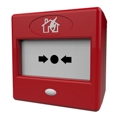 CQR FP3 Fire Alarm Manual Call Point