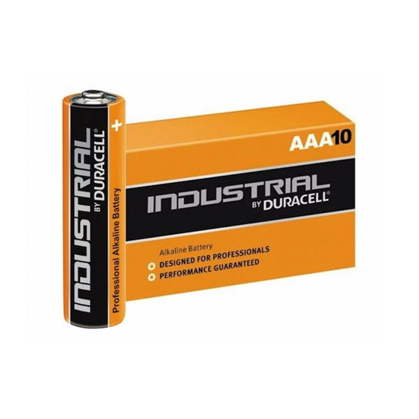 Duracell Industrial 1.5V, AAA Size Batteries (Box 10)