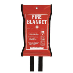 Firechief Kite Marked Fire Blanket In A Soft Pack 1.2M x 1.2M