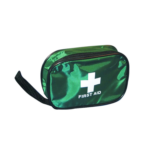 Compact First Aid Kit Pouch - Ideal For Car, Camping, Cycling, Caravanning, Hiking