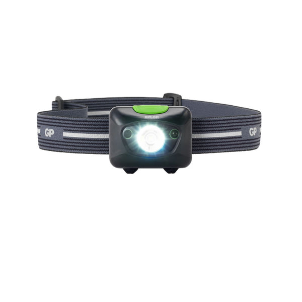 GP XPLOR Cree High Power, Rechargeable, Multi-Purpose Head Torch PH15R