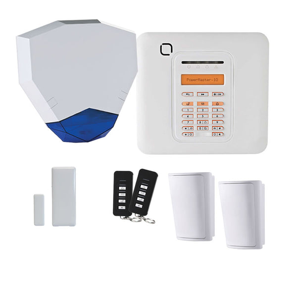 Visonic PowerMaster PG2 10 Wireless Alarm Kit PM10-HEX-KIT