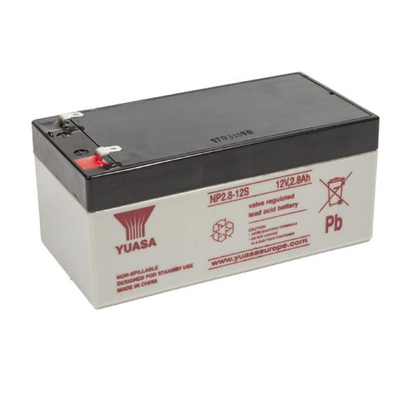 Yuasa SLA 12volt Batteries For Fire Alarms And Intruder Alarms