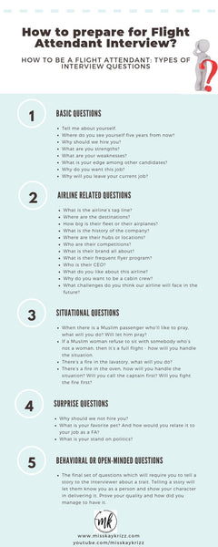How to prepare for Flight Attendant Interview?