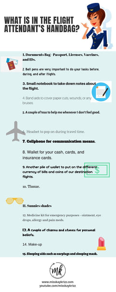 What is in the Flight Attendant's Handbag?
