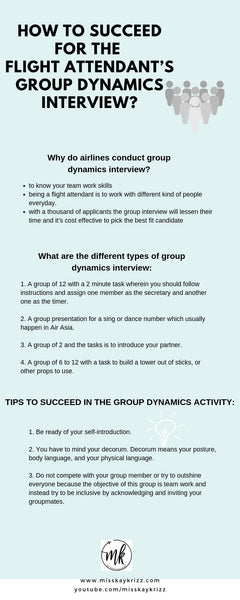 How to Succeed for the Flight Attendant's Group Dynamics Interview?