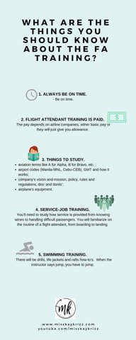 What are the Things you should know about the Flight Attendant Training?