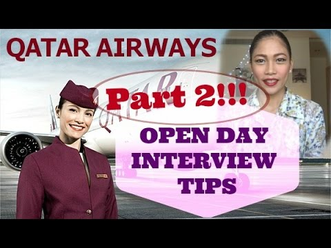 What are the tips in application for Qatar Airways?