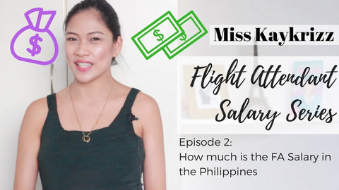 How much does a Flight Attendant Earn in the Philippines?