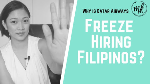 Why Qatar Airways have stopped Hiring Flight Attendants in the Philippines?